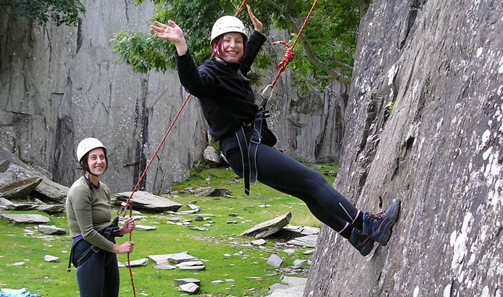 Abseiling training courses