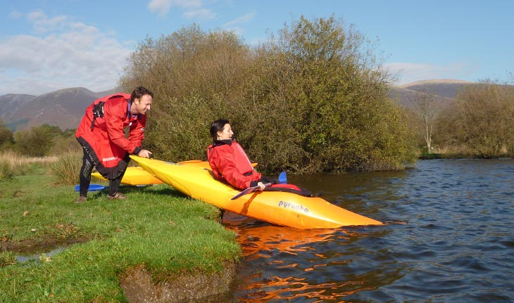 Kayak training courses