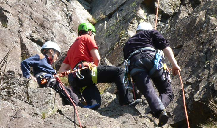 Rock Climbing Courses in Lake District