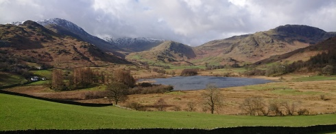 Guided Walking in The Lake District. Elterwater & Little Langdale. 4th March 2019.