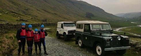 Ghyll Scrambling Sessions in The Lake District