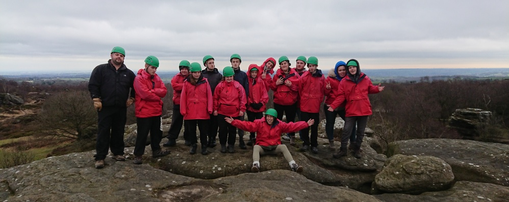 Working in The Yorkshire Dales with The Princes Trust. February 12th - 15th 2019