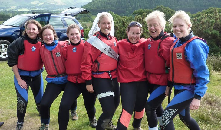 Hen Party Outdoor Activities in the Lake District