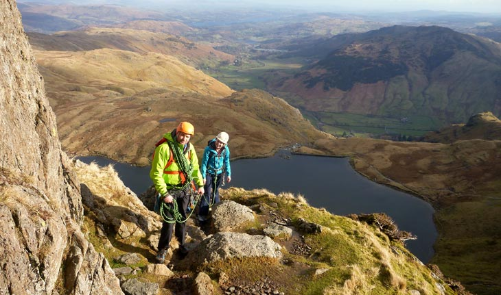 Scrambling Courses in the Lake District
